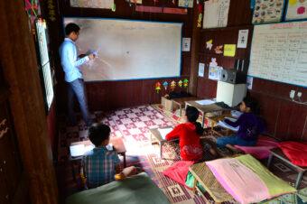 Kambodscha: Eine Schule in Andong