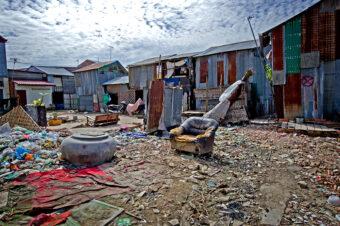 Kambodscha: Der Slum von Andong (Impressionen)