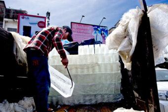 Kambodscha: Die Eismänner vom Phsar Chas (Old Market, Daun Penh District, Phnom Penh)