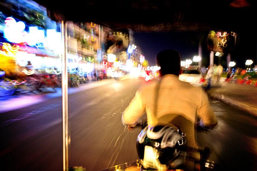 Kambodscha: Phnom Penh bei Nacht (Impressionen)